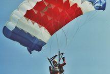 RAM-AIR parachute canopy / parachute history - foto: Karol Takac CAJO