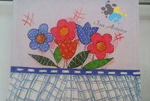 Isa Arteira / Pintura em Tecido