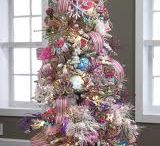 Candyland /dessert theme christmas trees and ornaments