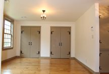 Interiors / Closets and cabinets