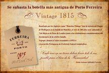 Porto Ferreira / Se subastó la botella más antigua de Porto Ferreira del año 1815