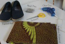 DIY tissus africain