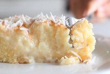 Dessert noix de coco