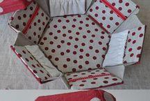 Sewing box handmade