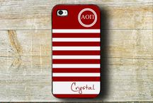 Alpha Omicron Pi gift ideas / Sorority gift ideas.  We offer monogrammed gifts including cases for your iPhone, iPod and iPad.