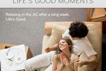 Life's Good Moments / We all have special moments and we are proud to be a part of them! LG, Life's Good... ;)