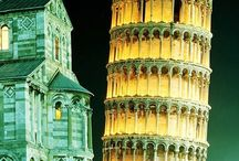 From Florence to.....Pisa / An half day excursion from Florence the see     The Unique Leaning Tower / by Hotel Pendini Florence