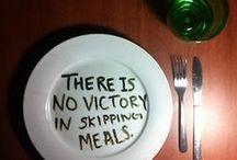 Ernährung / Bleibe fit durch gutes Essen!