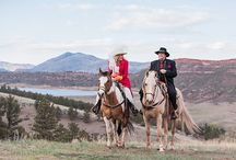 Sylvan Dale Weddings - 2015 / Whether you're wanting a wedding on horseback or you're interested in having a more traditional ceremony, we have some beautiful options for your special day. :)