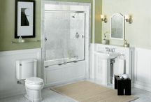 small bathroom ideas / by Rosemarie Kistenmacher