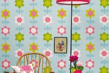 Wallpaper kids / Inspiration for girlsroom