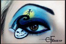 Eye art makeup