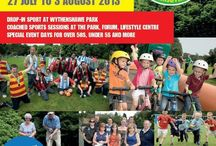 Wythenshawe Games 2013 / A community sporting event inspired by the Olympics is back this year in Wythenshawe and is aiming to beat its record of getting 10,000 residents to take part in its sport and cultural programme.