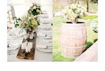 Bryllup / Bryllup, opdækningen, pynt, invitationer