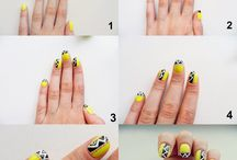 Nails art tutorial