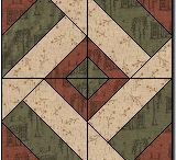 Colonial quilts / This is about old quilts.   I started looking for those true, old colonial quilts.   Many other old patterns are included, too, especially civil war patterns.
