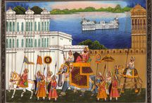 Charming Rajasthani Artwork / Feel like a maharajah with Rajasthani miniature art and paintings. / by ArtnIndia