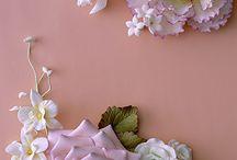 Květiny macipán