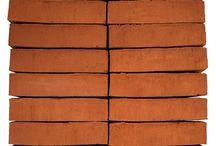 Rød og rosé mursten / Røde og rosé mursten i lækre nuancer fra Wienerberger.