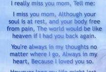 Missing my Mom / by Jessica Fidler
