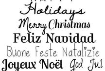 cartel navideño
