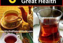 TEAS FOR GOOD HEALTH