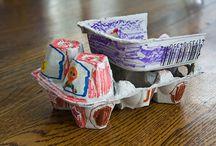craft with egg cartons