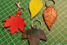 KEY HOLDERS IN LEATHER