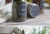 Spice Jar Label Ideas