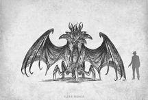 Cthulhu mythos creatures