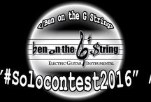 YouTube Video / Ben on the G String's Electric Guitar Instrumental Music Video on Youtube