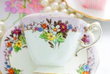 Vintage Tea Cups / The perfect cup for afternoon tea.