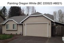 Exterior paint color ideas in Portland / Paint colors used on projects in Portland Oregon by Painting Oregon.