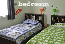 Bub and Bear Must Share / The Boys' Room