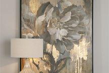 꽃하나바추상