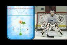Goalie girl / Goalie drills.