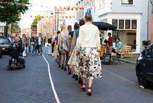 On the catwalk / San Miguel Shoes op diverse catwalks