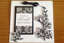 Toile de Jouy - Jet / by Craftwork Cards