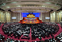 LDS General Conference / The semiannual General Conference of The Church of Jesus Christ of Latter-day Saints happens in April and October every year, attracting thousands of visitors to Temple Square