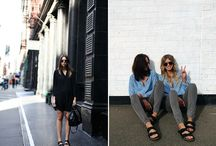 How to style: Birkenstocks / I love Birkenstocks! This board is a collection of Birkenstocks combined with various outfits.