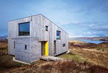 Eco House / small, eco-friendly houses, prefab, solar, etc., under 800 sq feet. / by e d