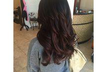 hair color / brunette hair color