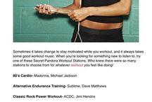 Music / Workout playlists