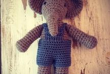 olifanten gehaakt