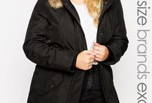 Plus Size Outerwear / Plus Size jackets and coats flattering for flaunting curves and fuller figures. / by Anyonita