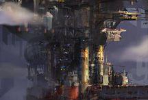 Fantasy and Sci-fi settings