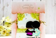 PPP: Storybook 3 Inspiration / A board filled with inspiration using the Pretty Pink Posh die set: Storybook 3