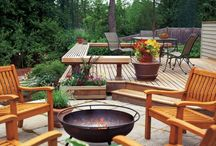 Patio design / Outdoor patio ideas