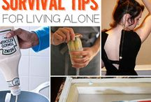 SURVIVAL TIPS FOR LIVING ALONE