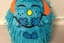 Piñatas  Pop / Character Pinatas Pop for crazy little kids.  Made with passion and love for kids fun.  Hand made in UK.  Made for private orders.